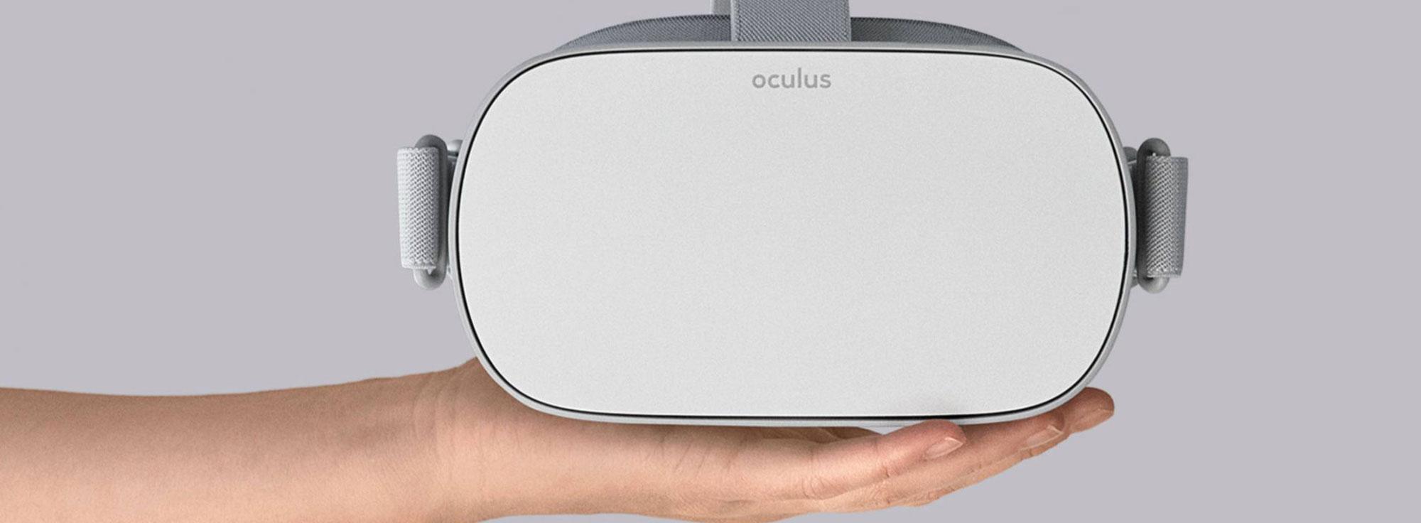 Noleggio Kit VR Oculus Go