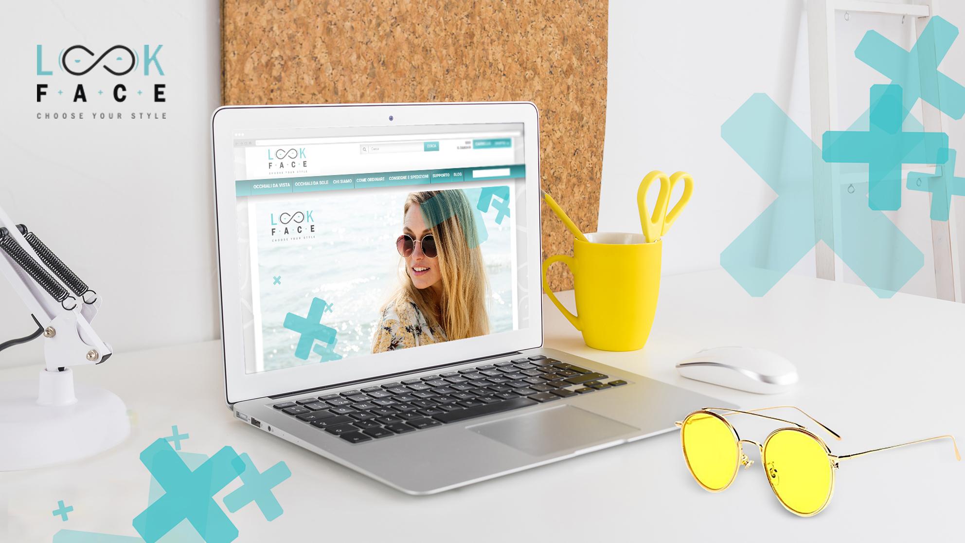 Lookface brand identity e realizzazione sito web