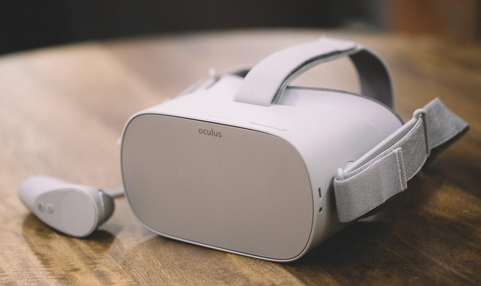 Oculus GO per eventi VR