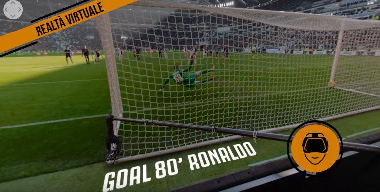 Video 360 gradi Juventus-Fiorentina 2020