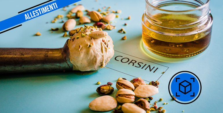 Allestimento grafico Maison Corsini